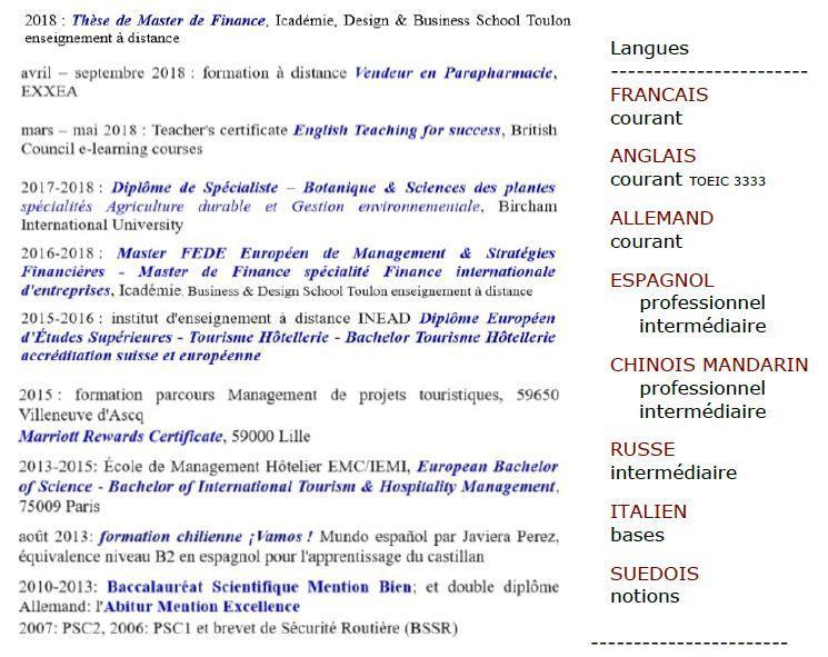Formation d eleonore votre professeur topissime linguistique et historique espe international by lmdjg